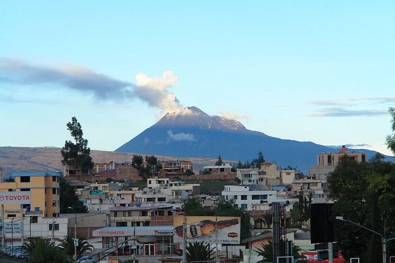 A view on the volcano