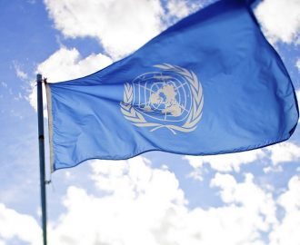 United Nation's flag